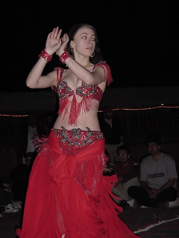 Syrian belly dance
